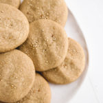 Maple Tahini Cookies Veggiekins