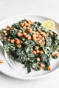 Tahini Caesar Salad Veggiekins