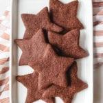 chocolate star cookies