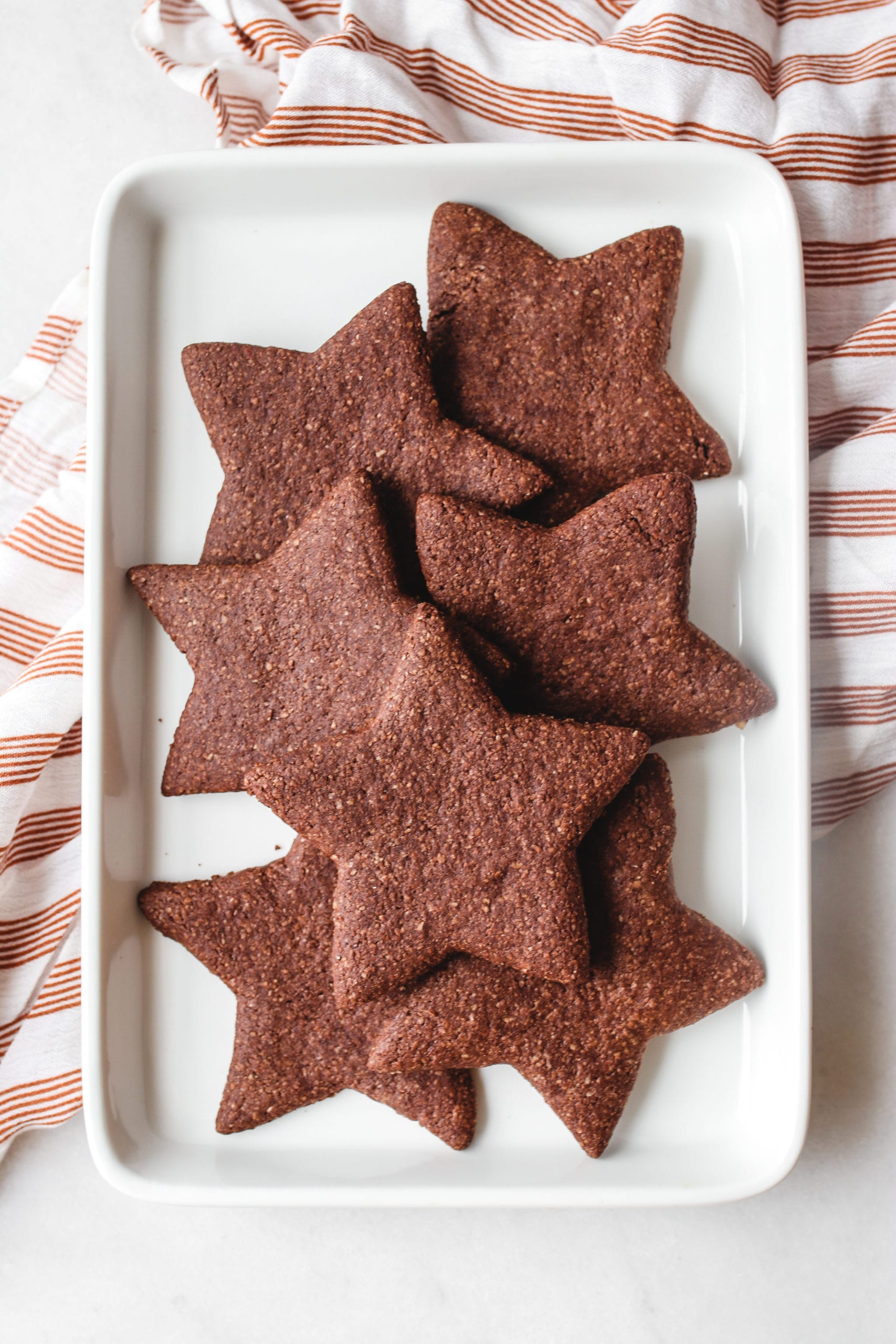 chocolate star cookies