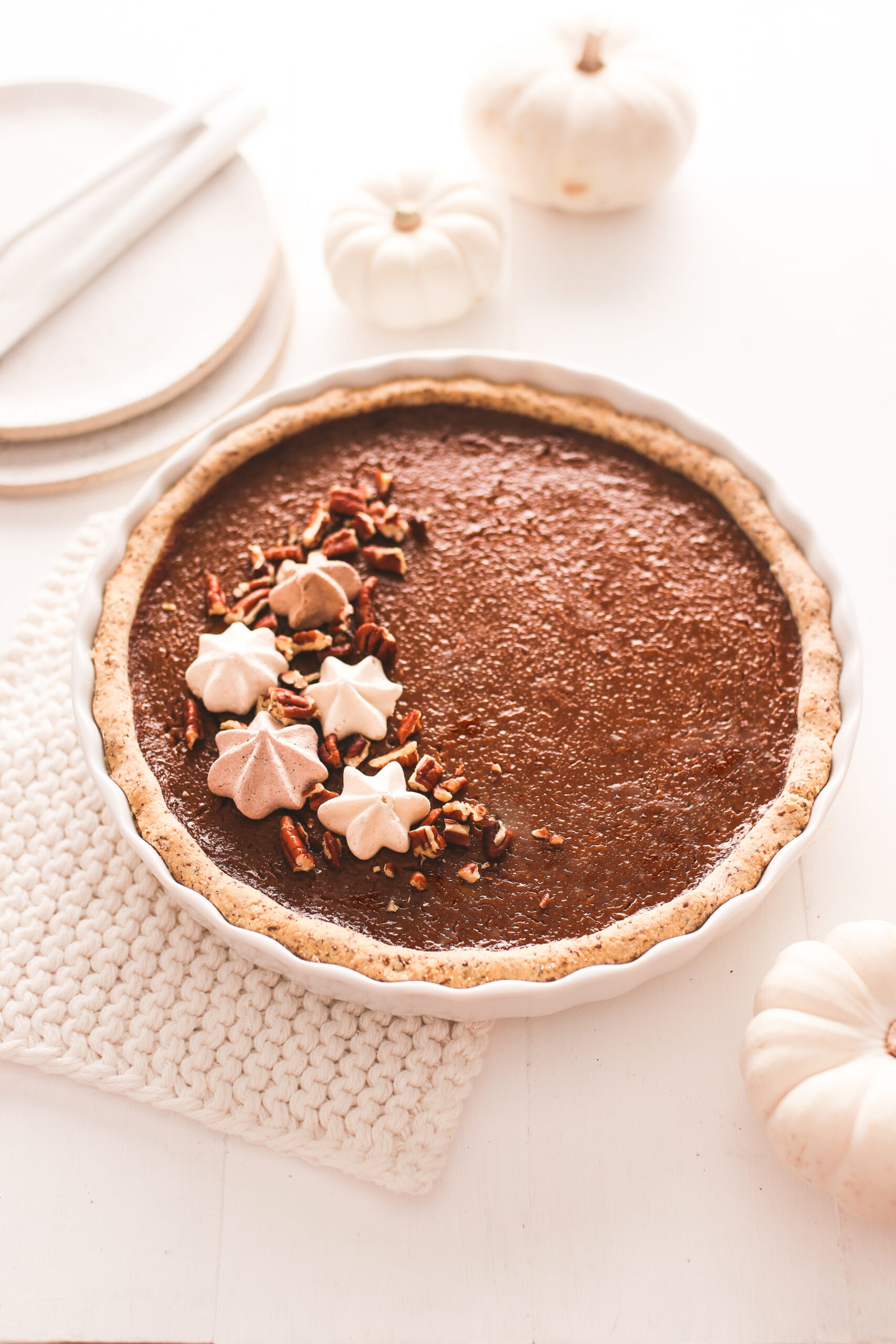 Healthy Vegan Pumpkin Pie Veggiekins