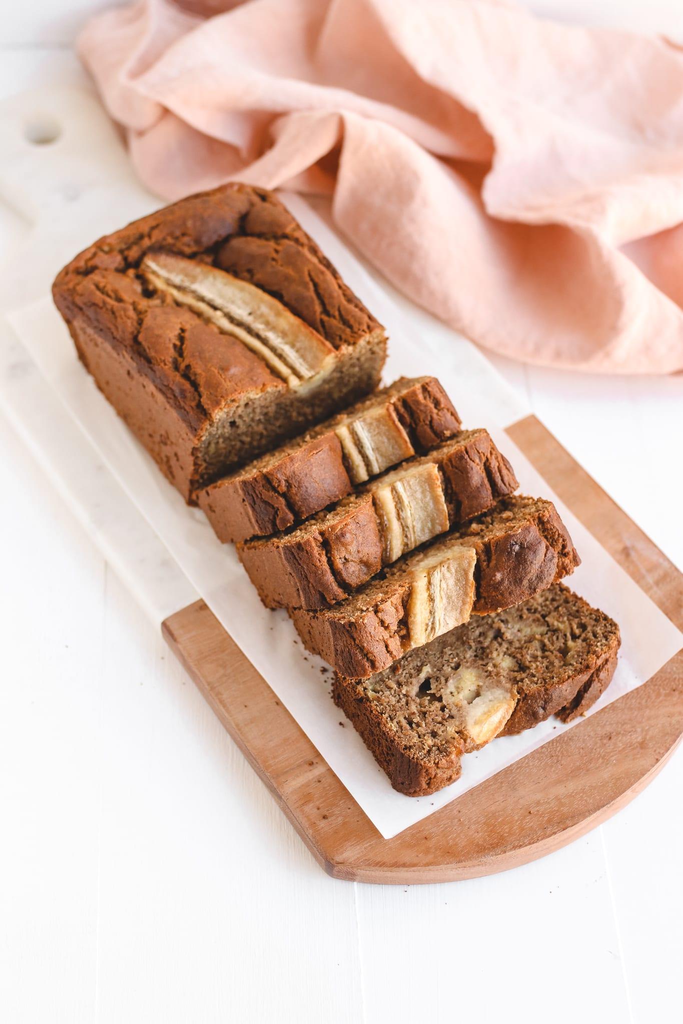Best Healthy Banana Bread Vegan Gluten Free Refined Sugar Free Oil Free Veggiekins Blog