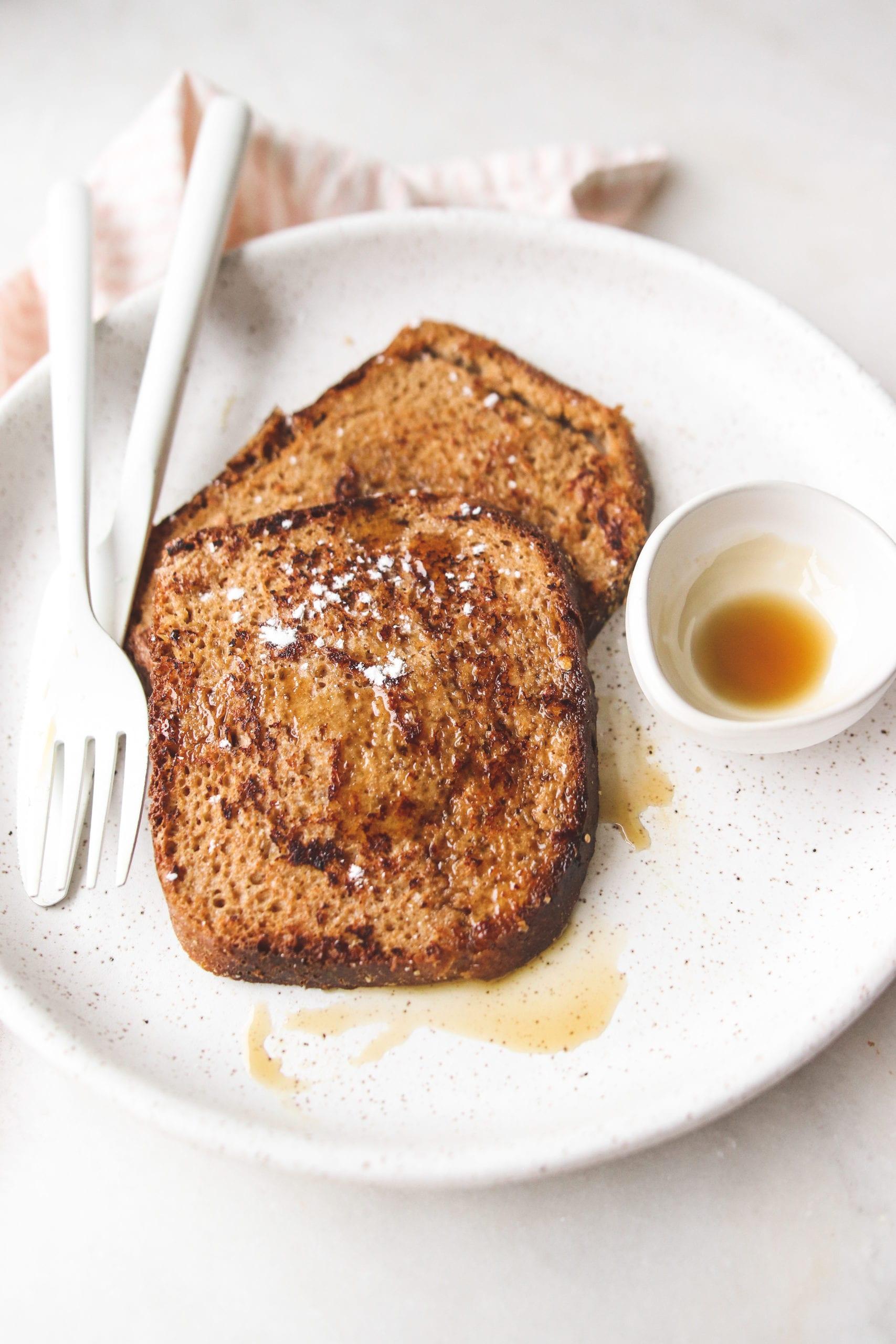 Oat Milk French Toast Vegan