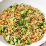Quinoa Fried Rice Vegan