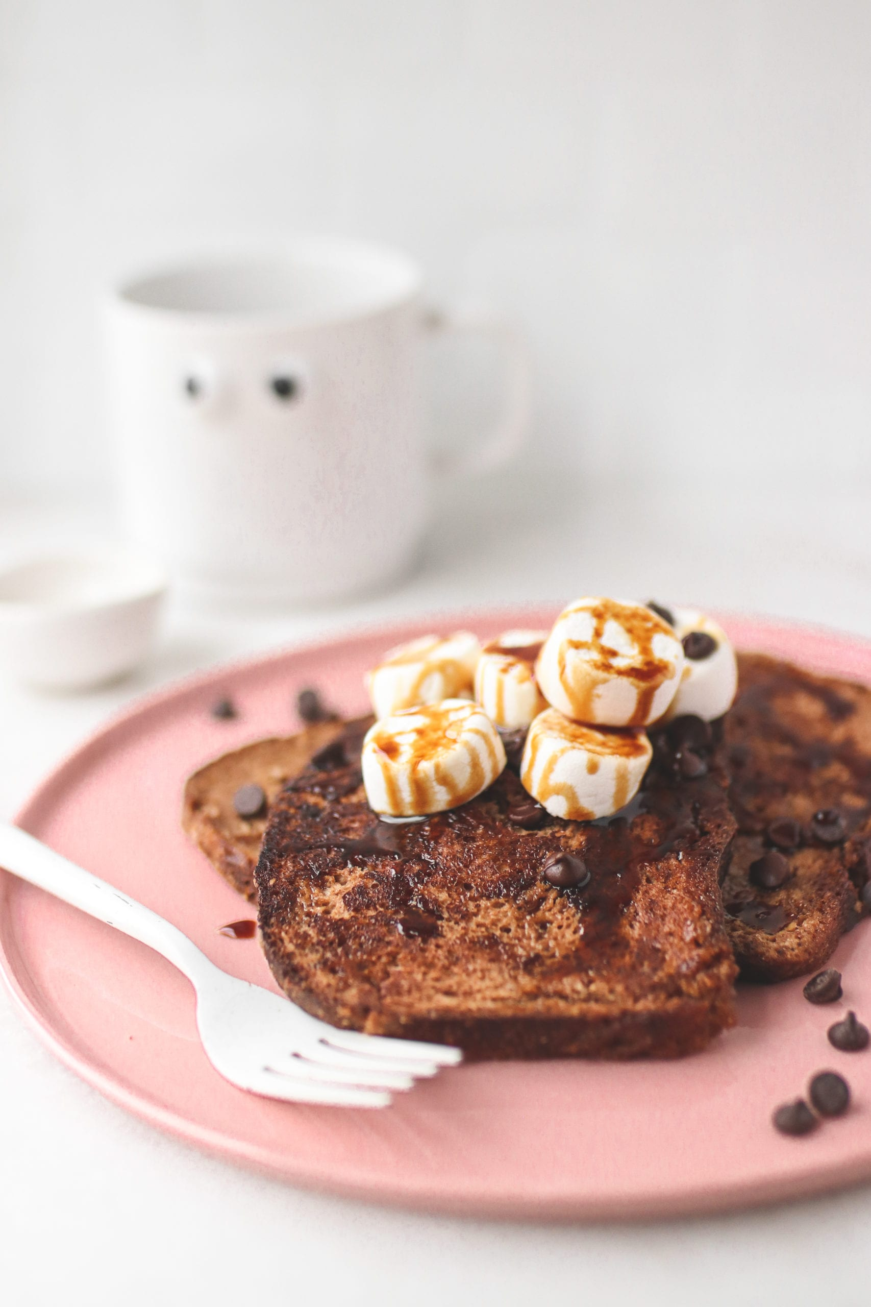 Vegan Hot Chocolate French Toast
