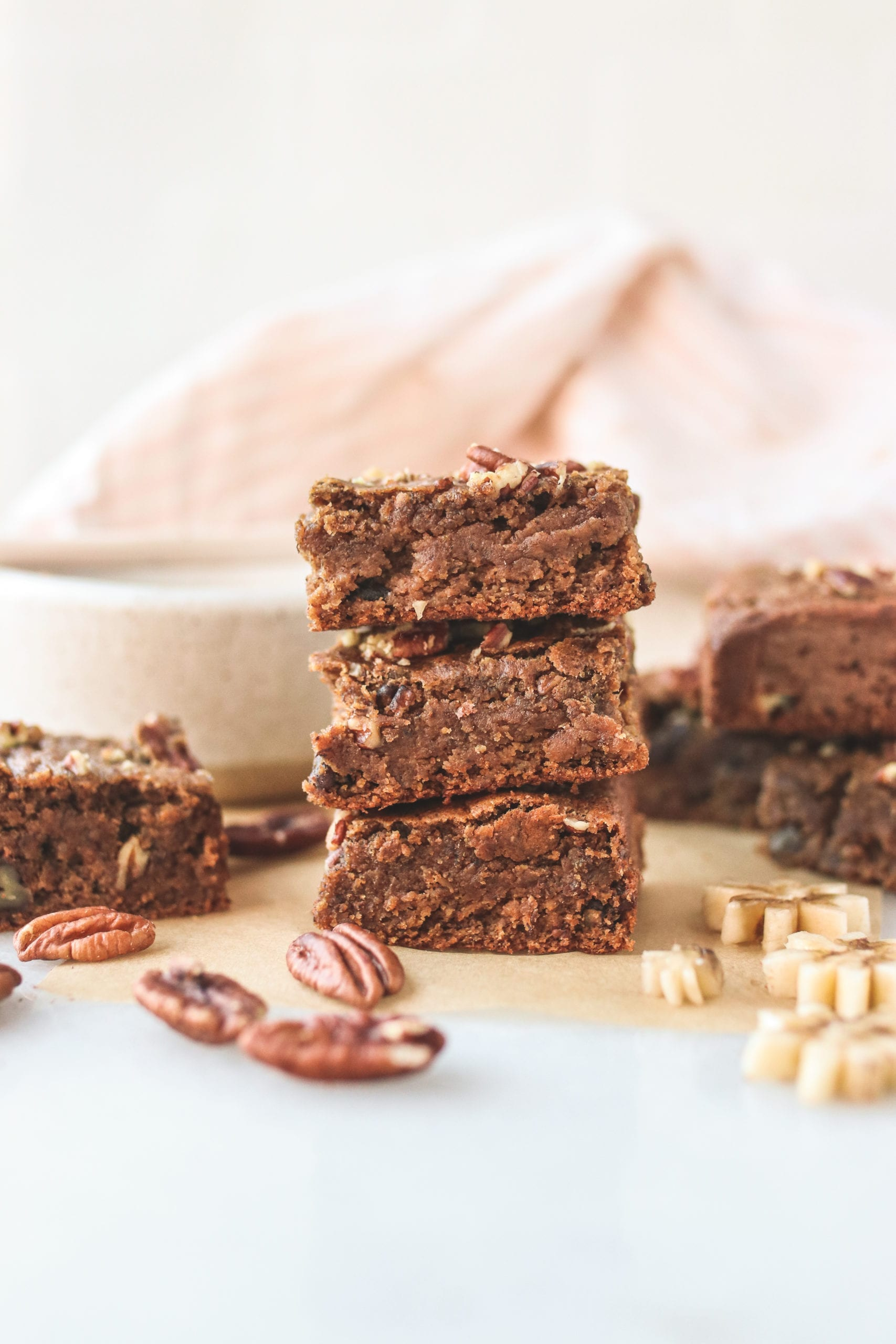 Vegan Banana Bread Bars Veggiekins