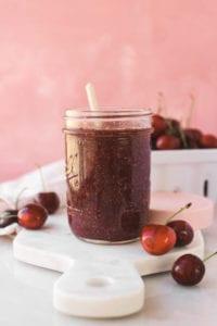 Hibiscus Cherry Chia Jam