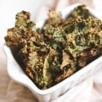 Spicy Miso Cheesy Kale Chips Veggiekins