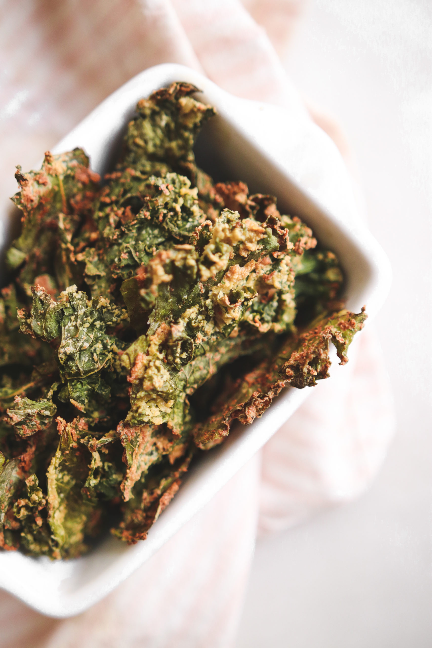 Spicy Miso Cheesy Kale Chips Veggiekins