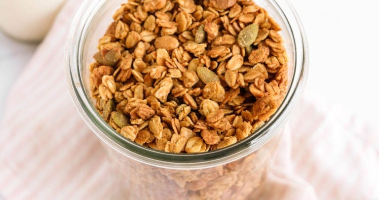 pumpkin spice granola veggiekins