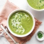Asparagus Zucchini Soup Vegan Paleo Veggiekins
