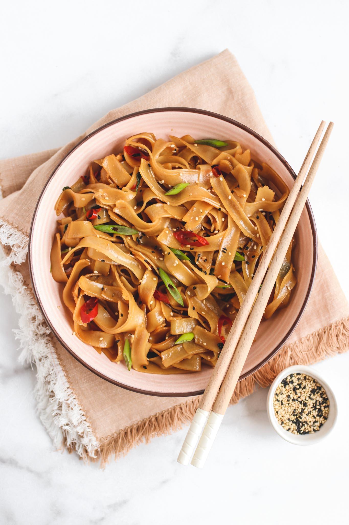 veggiekins sweet and spicy noodles