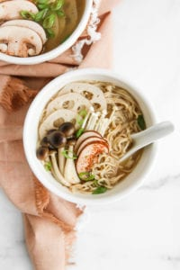 Healthy Mushroom Miso Ramen Veggiekins