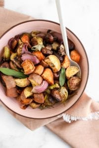 Thanksgiving Veggie Roast Veggiekins