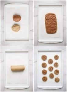 healthy cinnamon roll cookies veggiekins