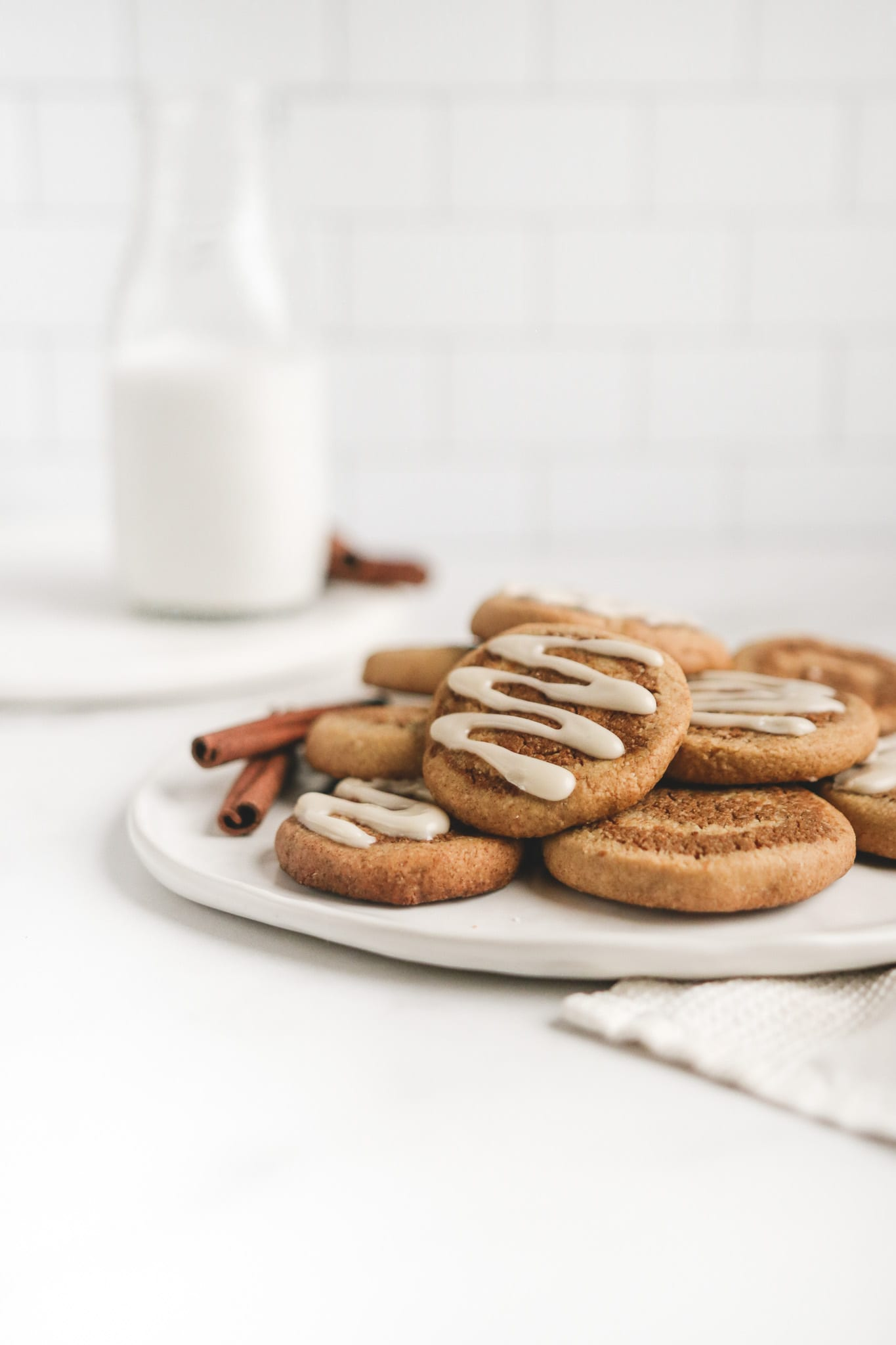 healthy cinnamon roll cookies veggiekins