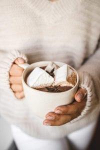 triple chocolate hot chocolate veggiekins