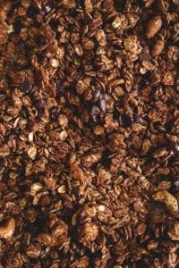 Double Chocolate Quinoa Granola Veggiekins