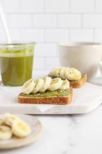 Matcha Butter Toast Veggiekins