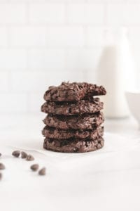 Flourless Chocolate Avocado Fudge Cookies Veggiekins