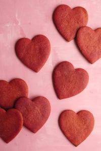 cashew butter conversation heart cookies veggiekins
