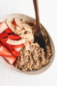 breakfast buckwheat porridge veggiekins