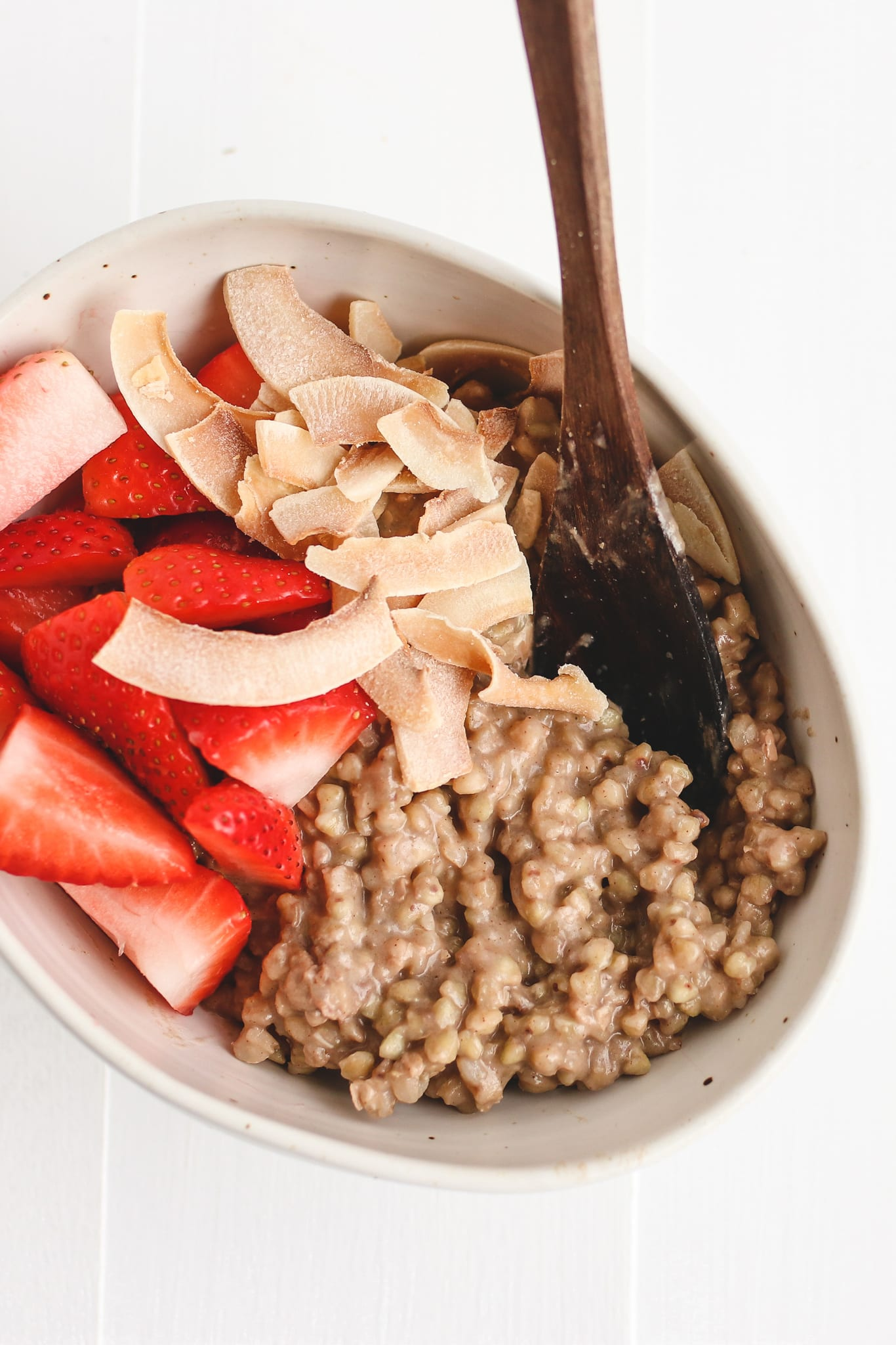 breakfast buckwheat porridge veggiekins