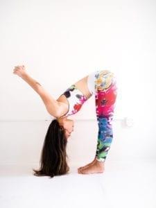 gentle standing yoga poses veggiekins