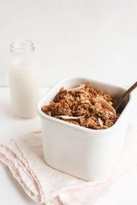vanilla fig granola veggiekins