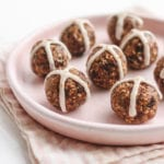Hot Cross Bun Bliss Balls Veggiekins