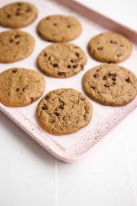 Vegan Gluten Free Chocolate Chip Cookies Veggiekins