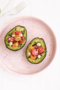 caprese stuffed salad vegan veggiekins
