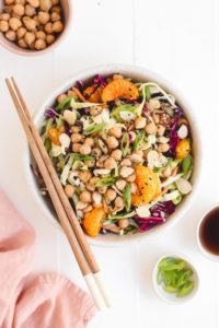Vegan Chinese Chickpea Salad