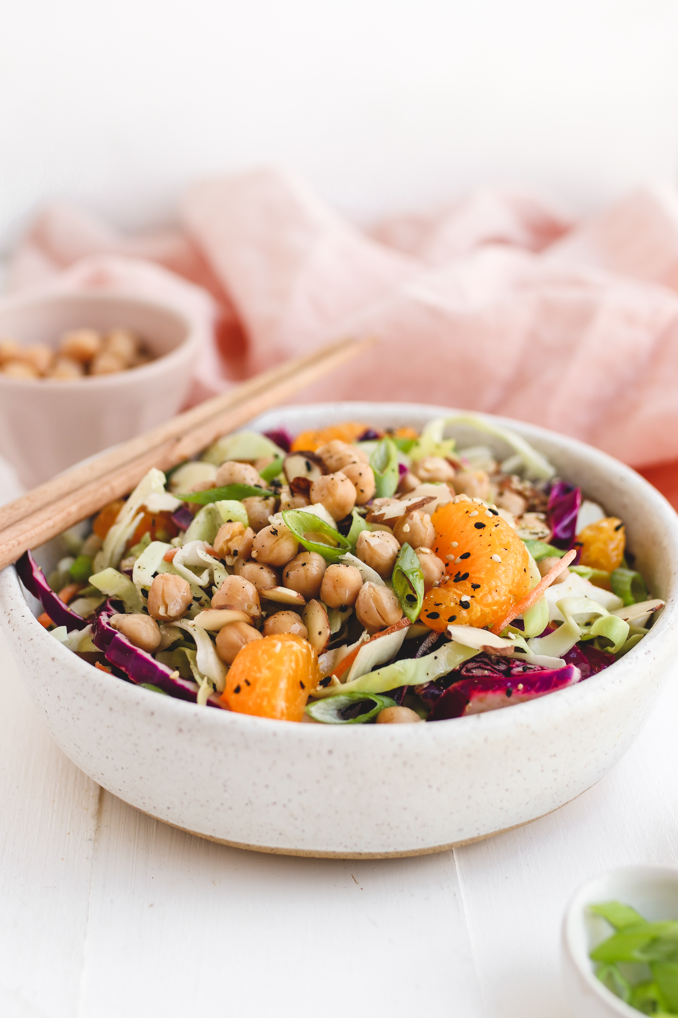 Vegan Chinese Chickpea Salad