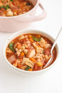 veggiekins vegan Minestrone Soup