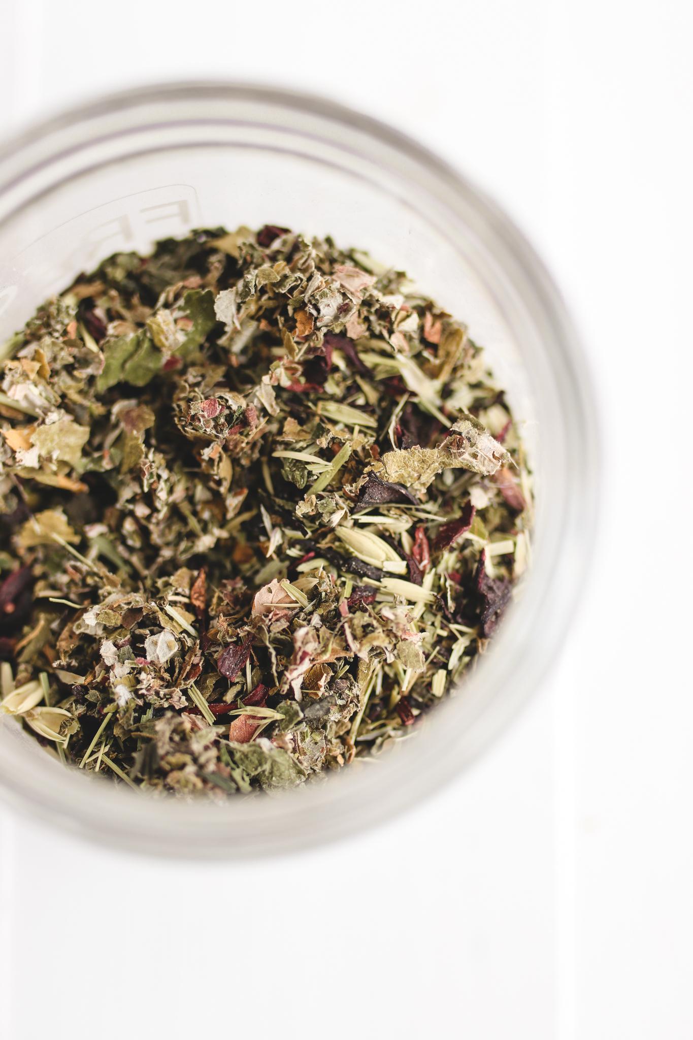Hibiscus Moon Tea