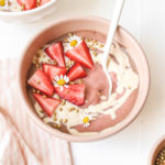 Strawberries and Cream Smoothie Veggiekins