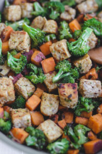 Tempeh Broccoli Hash Veggiekins