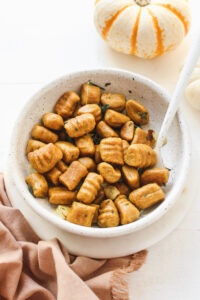 Pumpkin Gnocchi Veggiekins