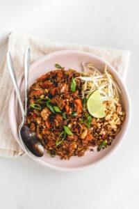 Indonesian Inspired Fried Rice Veggiekins