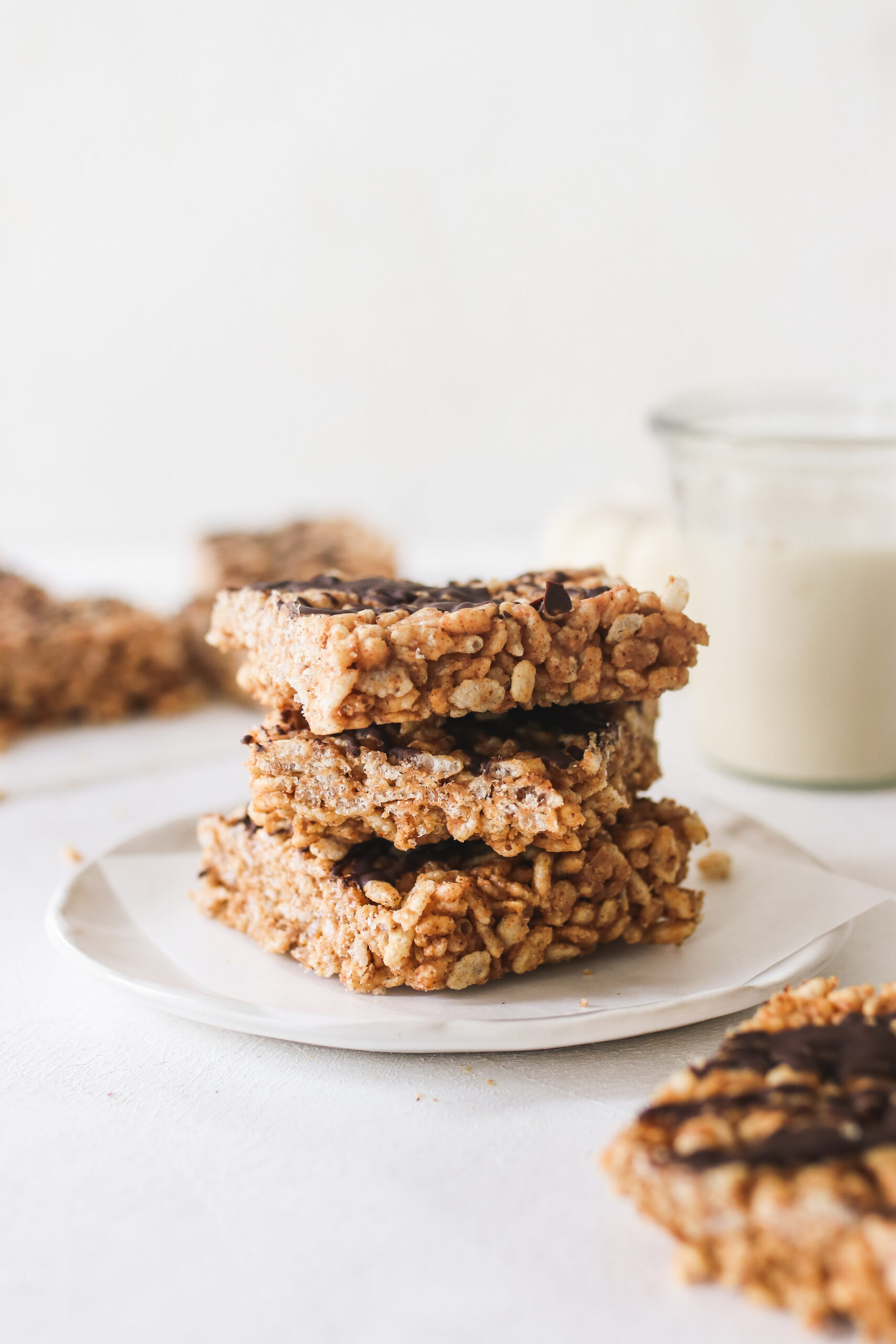 Almond Butter Rice Krispie Treats Veggiekins