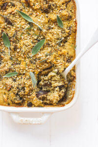 Mushroom Quinoa Bake Veggiekins Blog