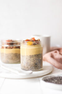 Pumpkin Cheesecake Chia Pudding