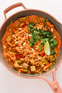 Veggiekins Red Curry Noodles