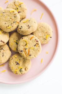 Cranberry Orange Cashew Butter Cookies Veggiekins Blog