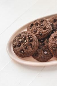Gingerbread Brownie Cookies Veggiekins Blog