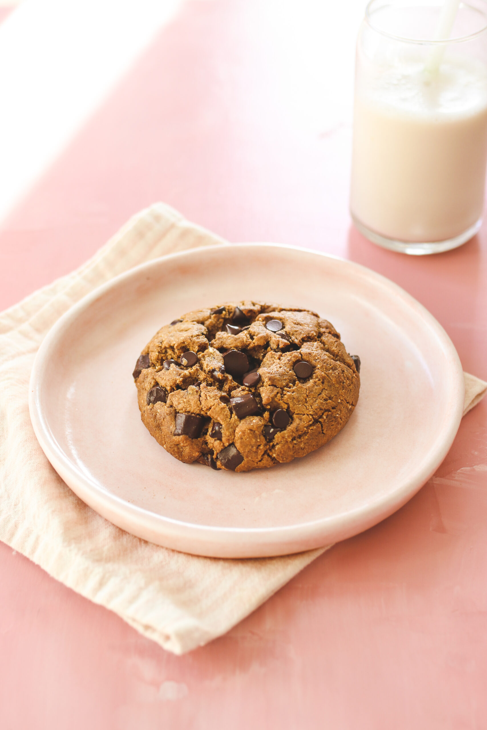 Vegan Levain Style Chocolate Chip Cookie Veggiekins