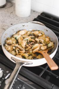 Shanghai Style Rice Cake Stir Fry Vegan Gluten Free Veggiekins Blog