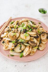Stir Fried Rice Cakes Veggiekins Blog