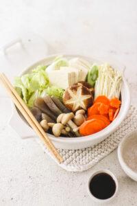 Vegan Japanese Hot Pot - Nabemono - Veggiekins Blog-18